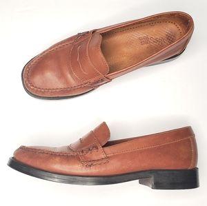 Weejuns Bass Katherine II Leather Penny Loafers